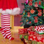 christmas tree, santa, woman-2999722.jpg